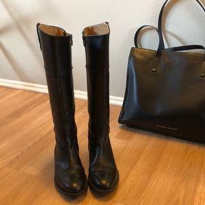 Enzo angiolini black leather boots